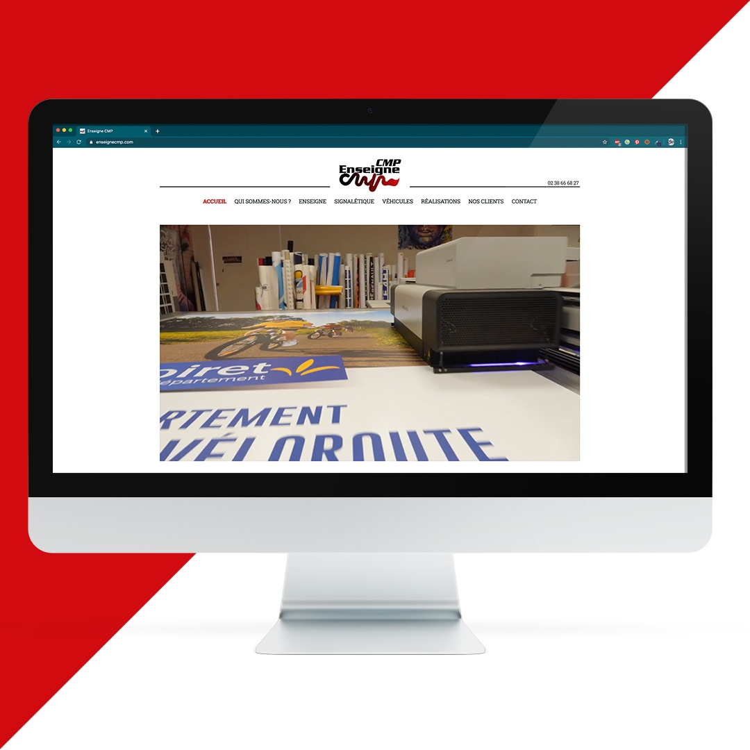 Création site internet CMP enseigne EKELA Orléans