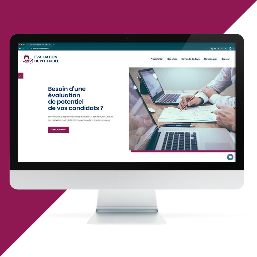 Création site internet Evaluation de potentiel EKELA Orléans