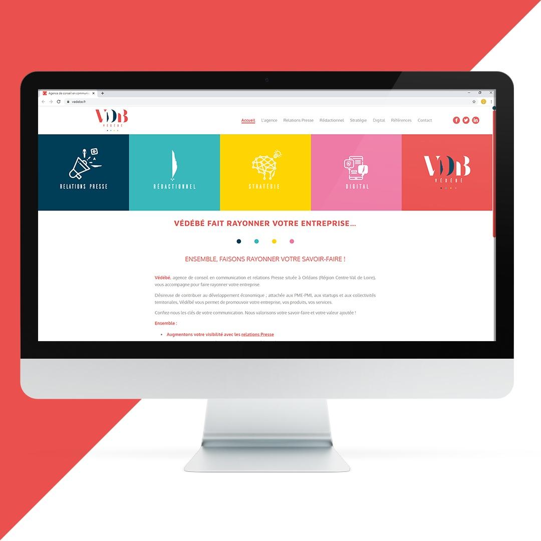 Création site internet VDB EKELA Orléans