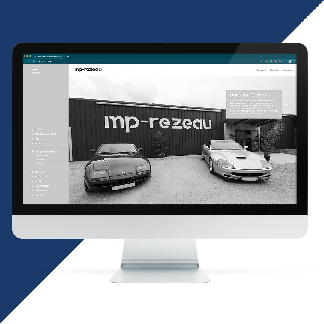 Création site internet MP Rezeau EKELA Orléans
