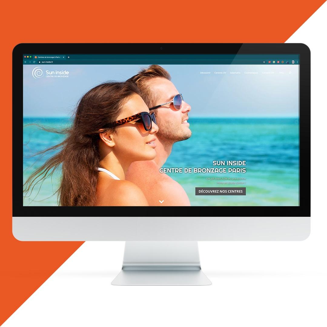 Création site internet Sun inside EKELA Orléans