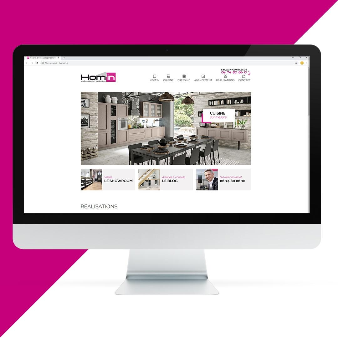 Création site internet Hom'in EKELA Orléans