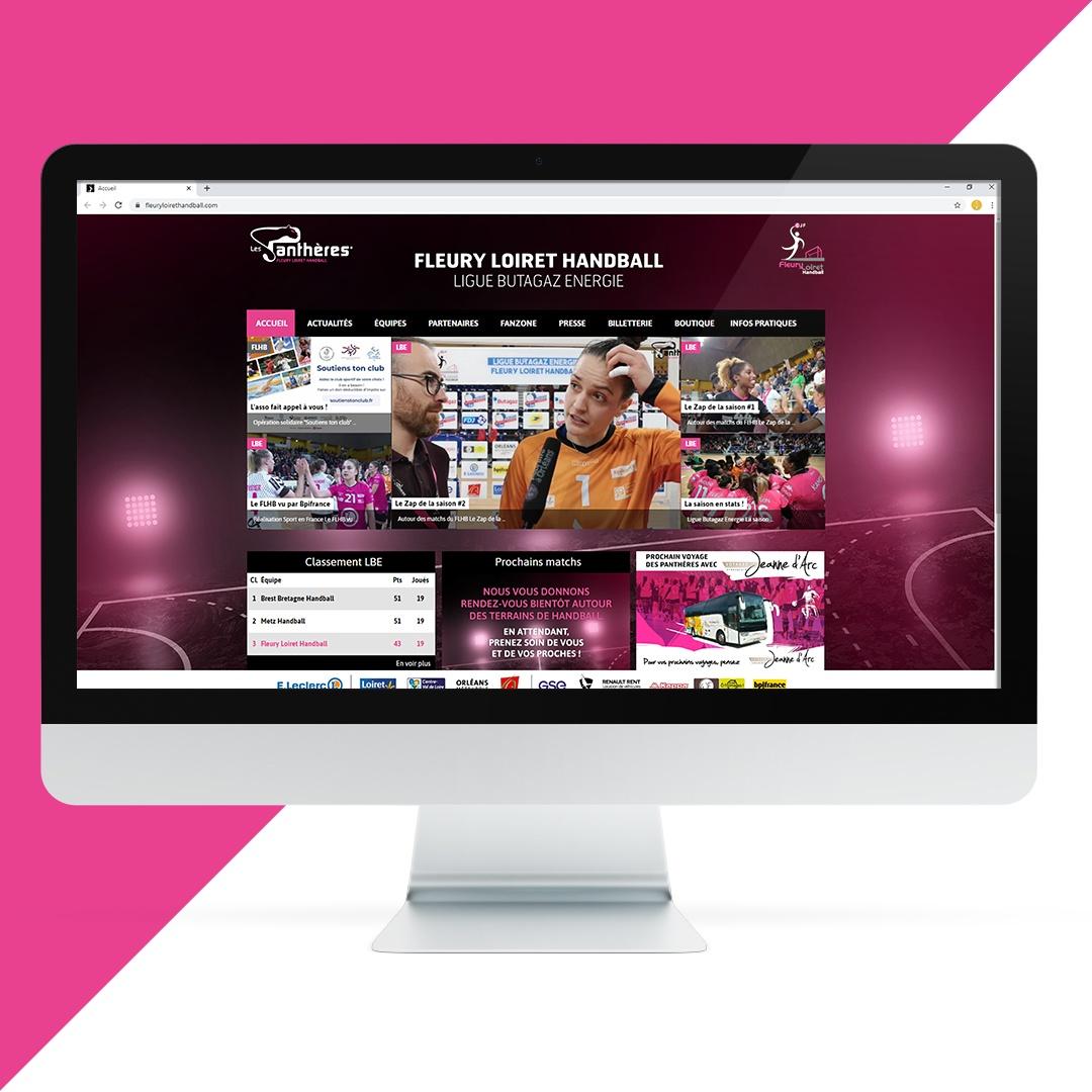 Création site internet FLHB EKELA Orléans
