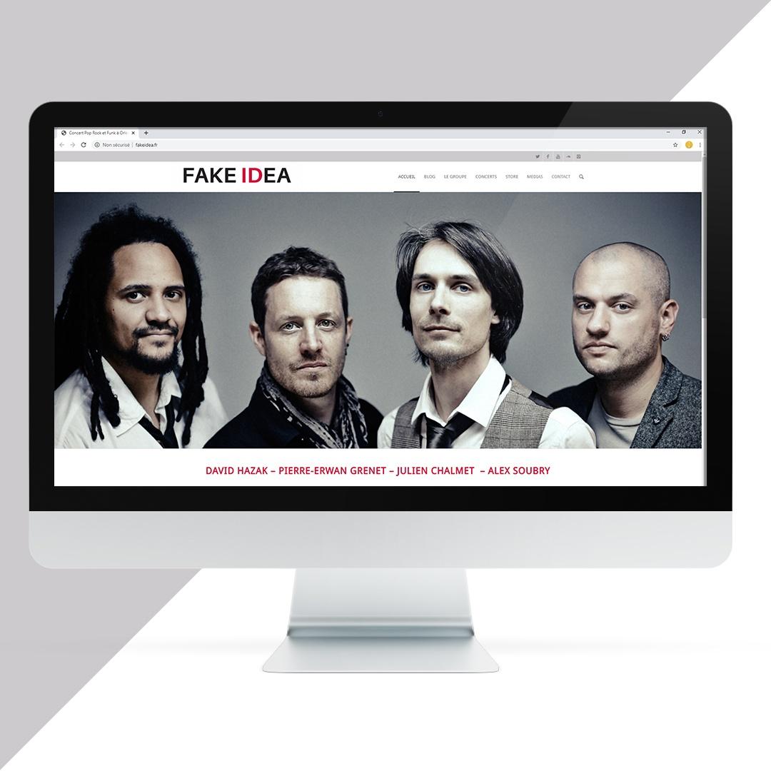 Création site internet FAKE IDEA EKELA Orléans