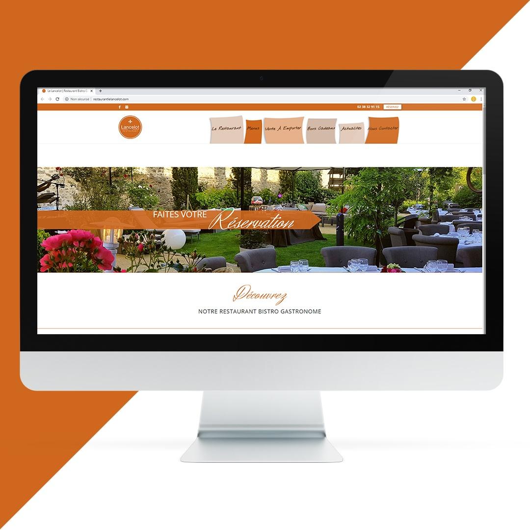 Création site internet Le Lancelot EKELA Orléans