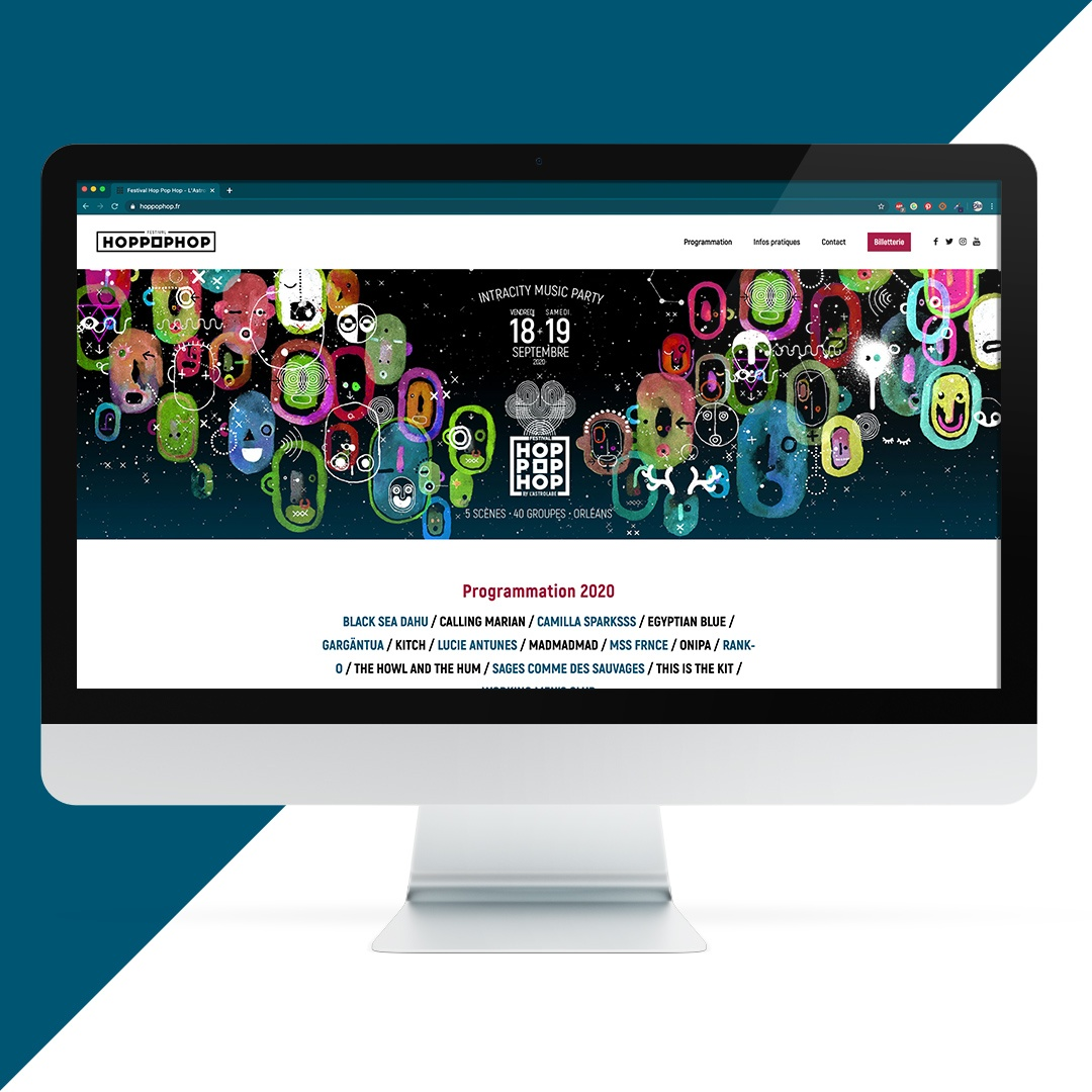Création site internet Hop Pop Hop EKELA Orléans