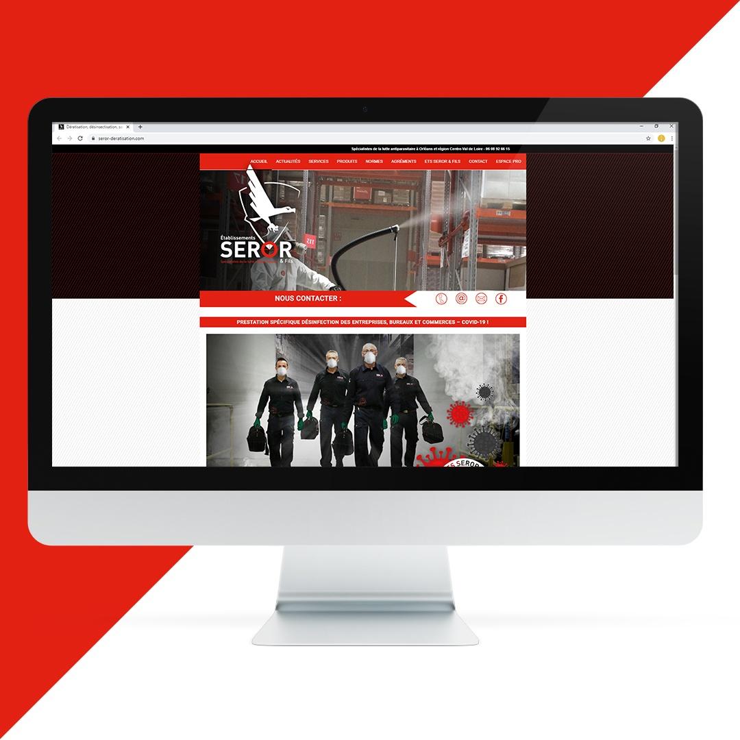 Création site internet Seror EKELA Orléans