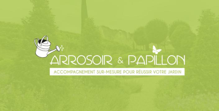Arrosoir et Papillon, identité graphique, EKELA agence marketing