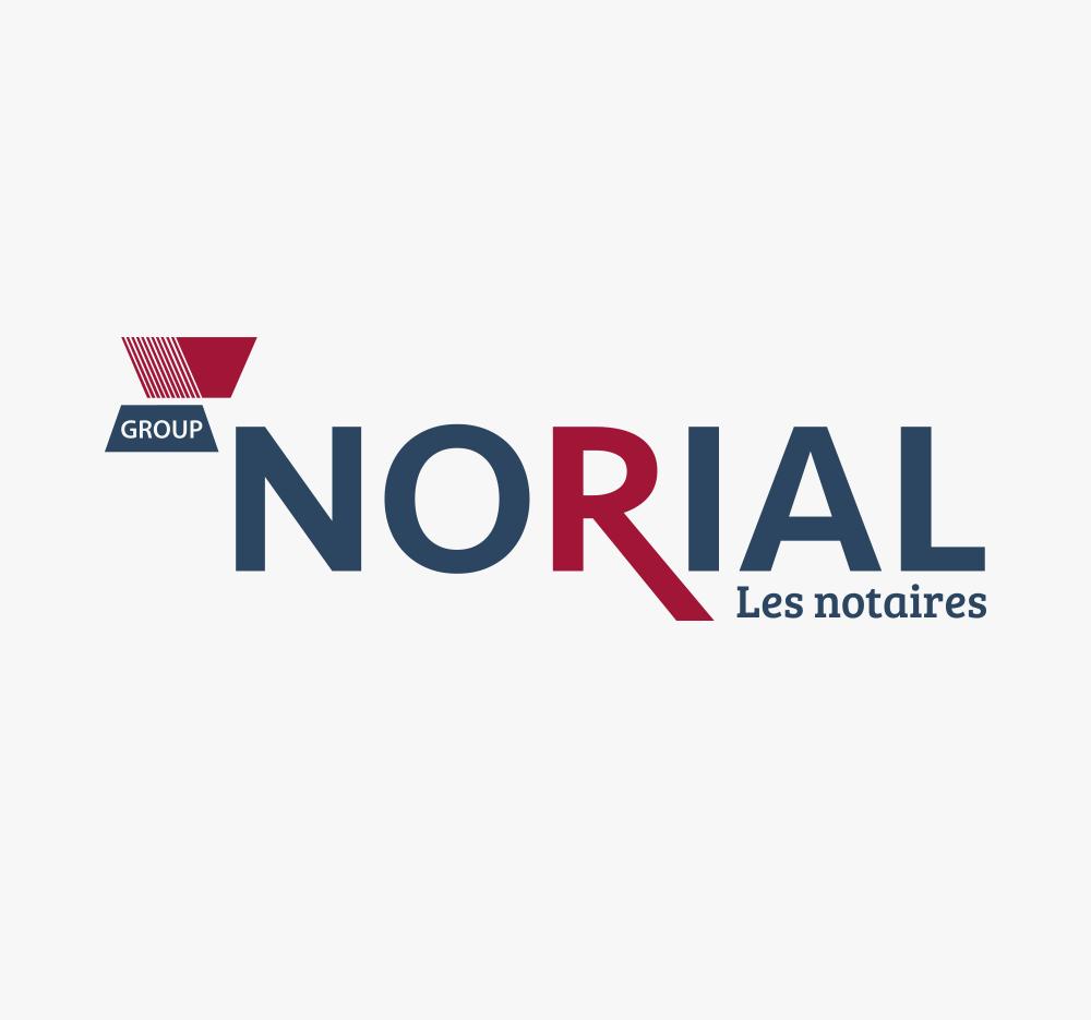 Création de logotype et naming pour Norial par EKELA Marketing & Digital