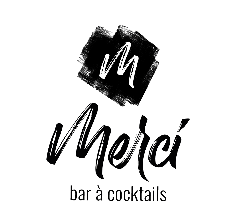 Logotype Merci Bar créé par l'agence EKELA Marketing & Digital à Orléans