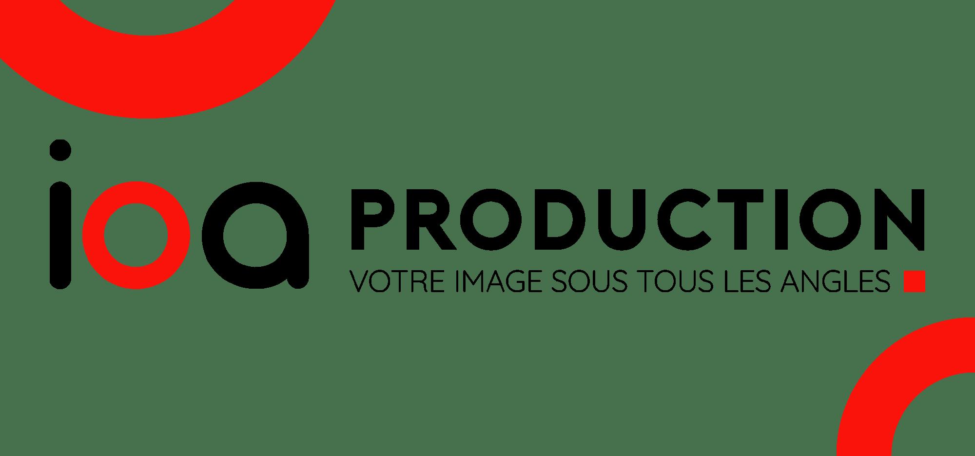 Nom de marque et identité graphique de IOA PRODUCTION créé par EKELA