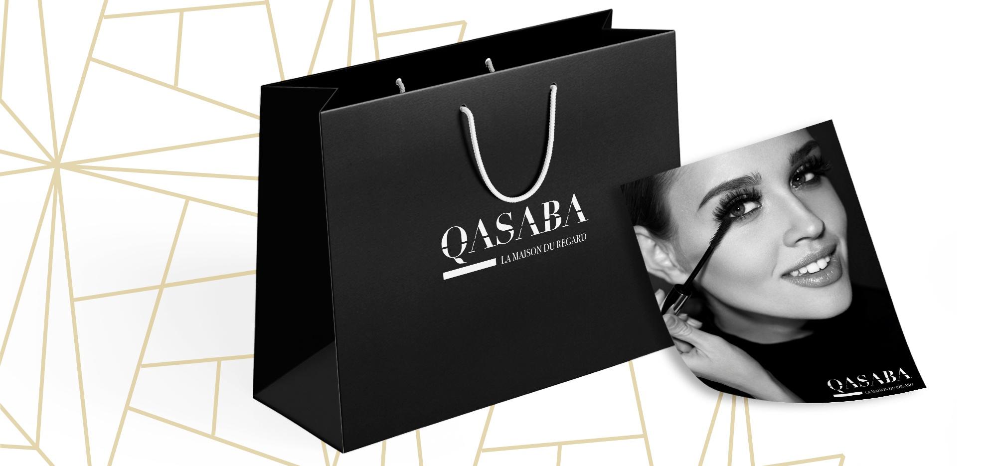 Création supports de communication QASABA par EKELA