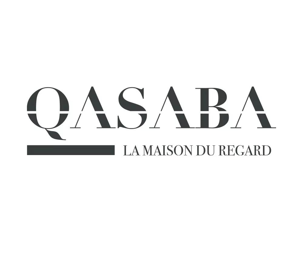 Logo QASABA réalisé par l'agence EKELA Marketing & Digital