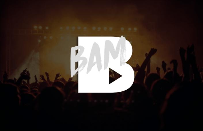 création d'une identité graphique pour BAM à Orléans