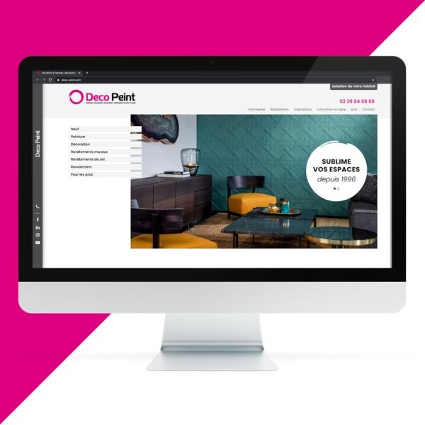 Création site internet DECOPEINT par l'agence EKELA Marketing & Digital