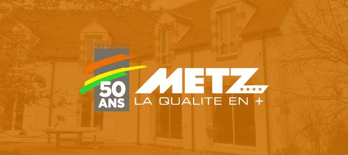 Réalisation pour METZ SA par l'agence EKELA à Orléans