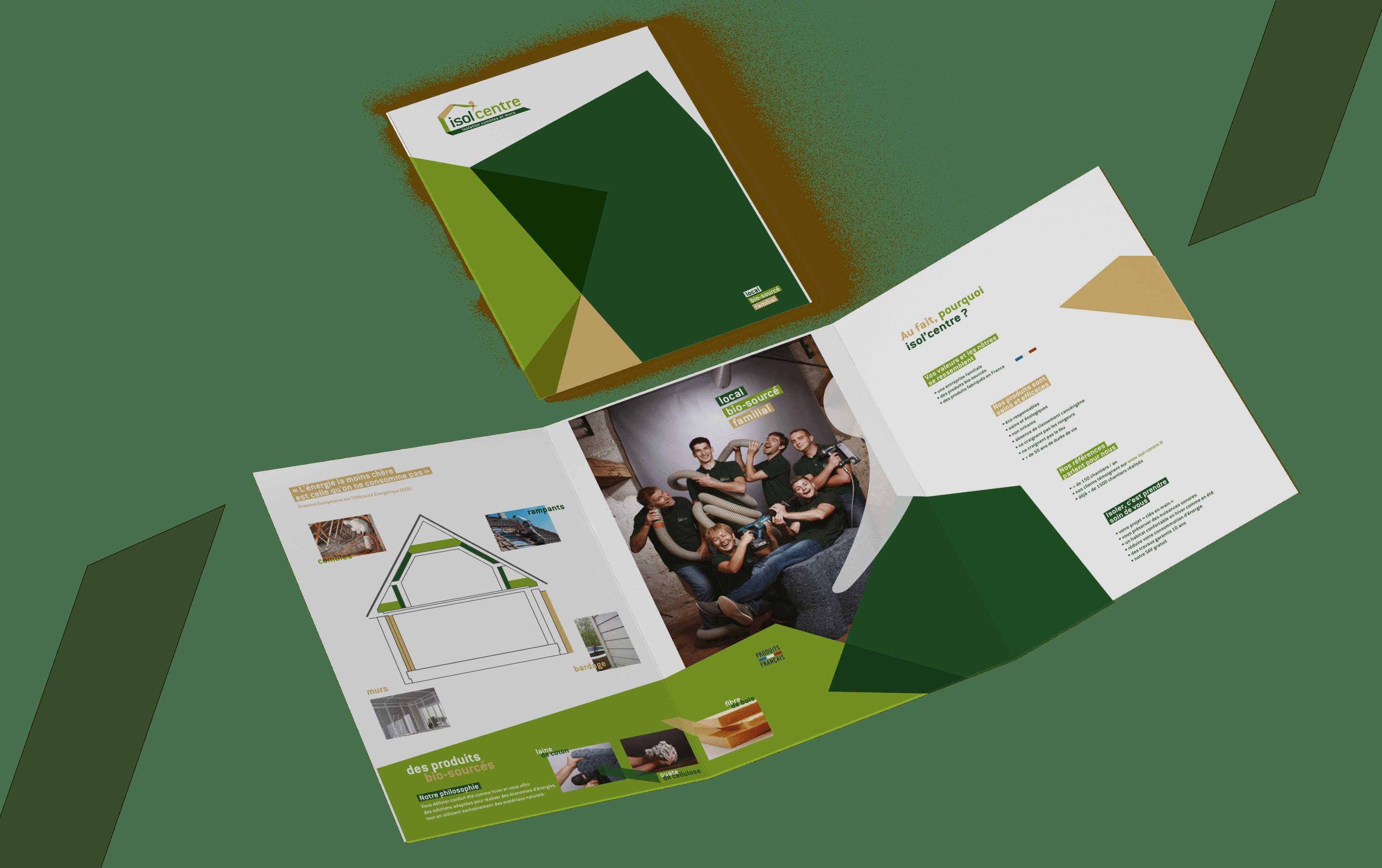 support de communication créé par EKELA marketing & digital