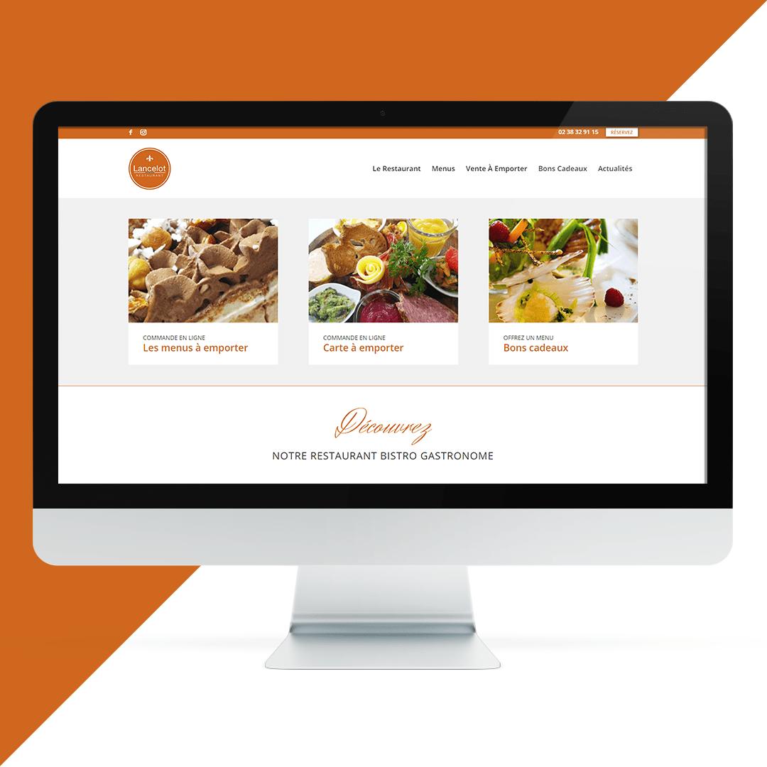 création site internet restaurateur Orléans - EKELA
